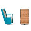 Nola High Swivel Chair, fåtöljer med snurr-funktion