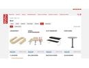 Nola bord på webbplats