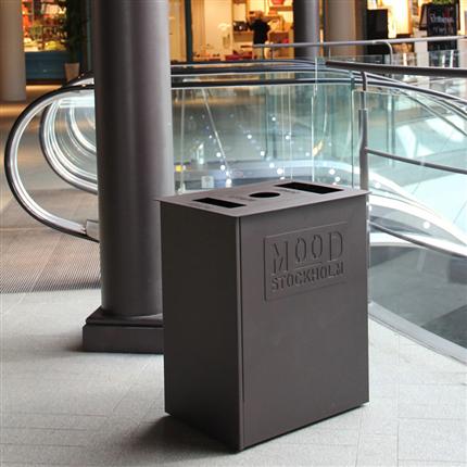 Nola Rekta papperskorgar, Mood Gallerian, Stockholm