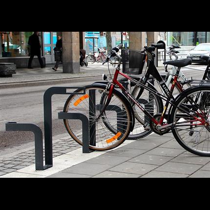 Nola cykelställ, cykelpollare och cykelhus