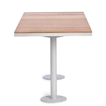 Parco rektangulärt bord, Täcklaserad furu alternativt FSC-märkt Jatoba. Produktdesign Broberg & Ridderstråle