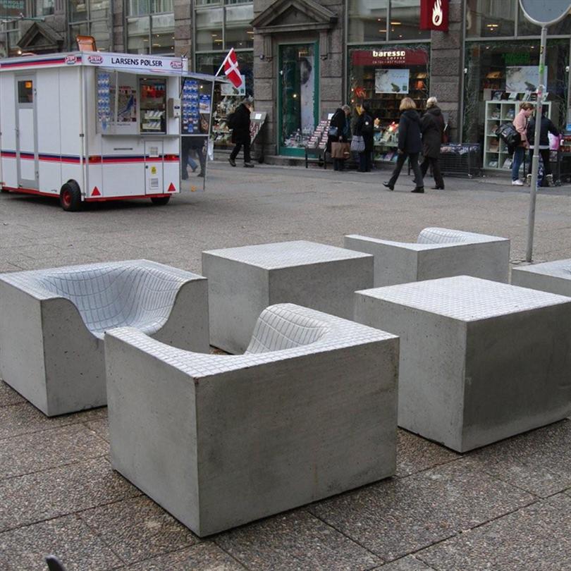 Nola concrete things möbelgrupper
