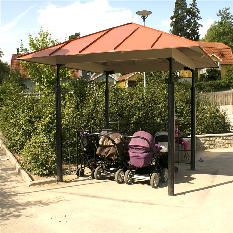 Nola pergola paviljong/väderskydd Lyran