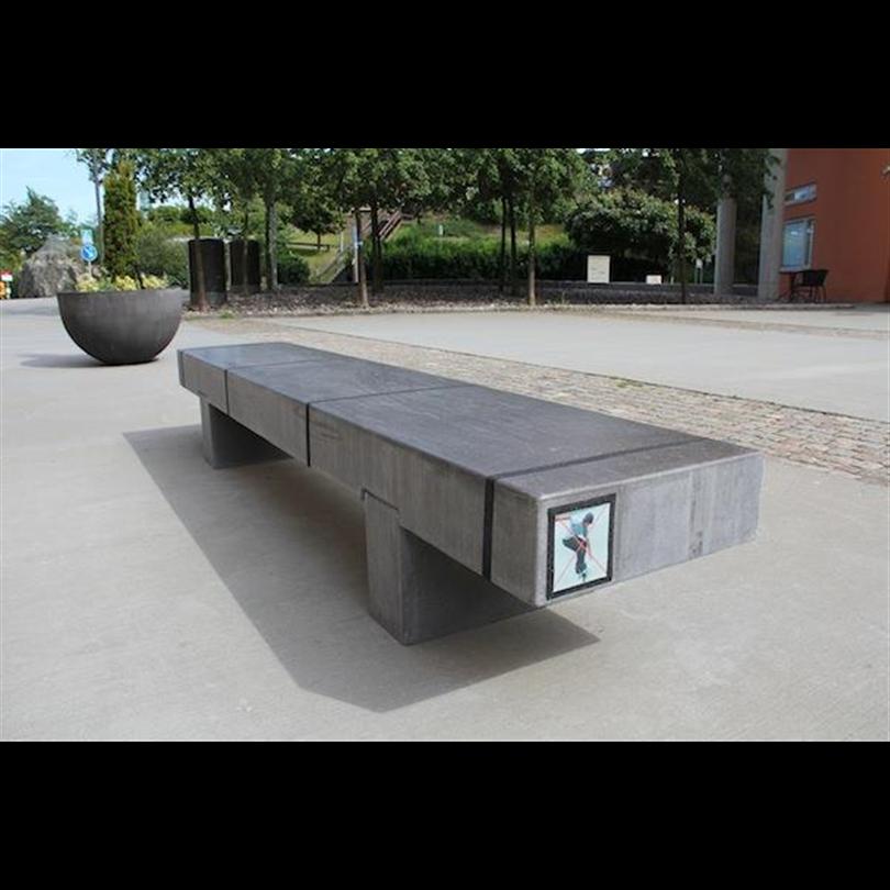 Plint i betong Produktdesign Broberg & Ridderstråle