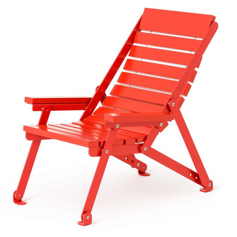 Nola Sunchair, röd