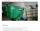 Kick-Off transportband på webbplats
