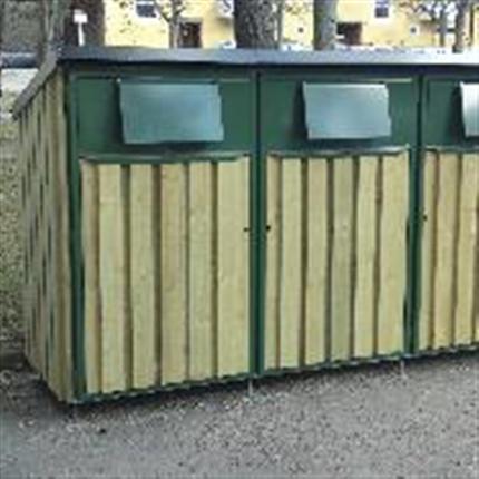 Eleiko KP miljöskåp av trä