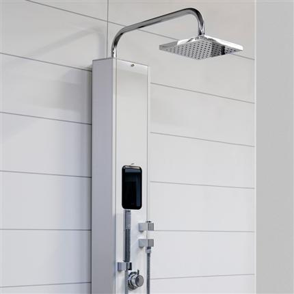 Tylö tx202/w duschpanel med ånga