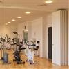 SWG 120 vikvägg, gym