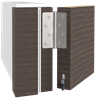 Automatisk tätningströskel Schall-Ex® L-8/30 WS