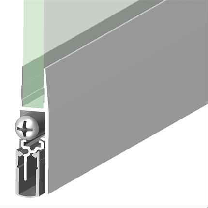 Schall-Ex GS-H8/12 tätningströsklar till glasdörrar
