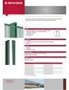 Betafence Bekasecure stolpsystem