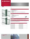 Betafence D-Lox stolpsystem