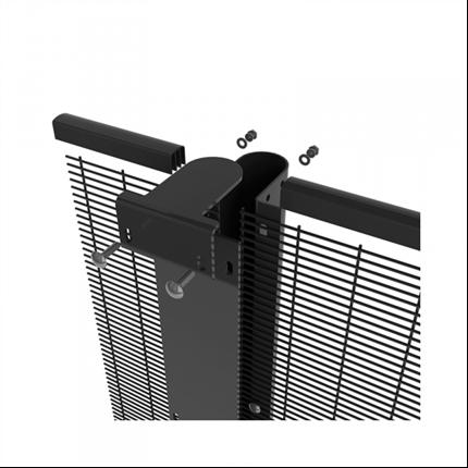 Betafence Bekasecure stolpsystem, montering