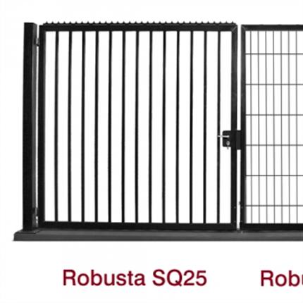 Betafence Robusta SQ25 grindar