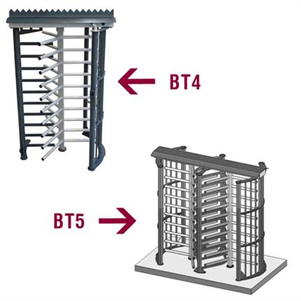 Betafence Rotationsgrind typ BT4, BT5