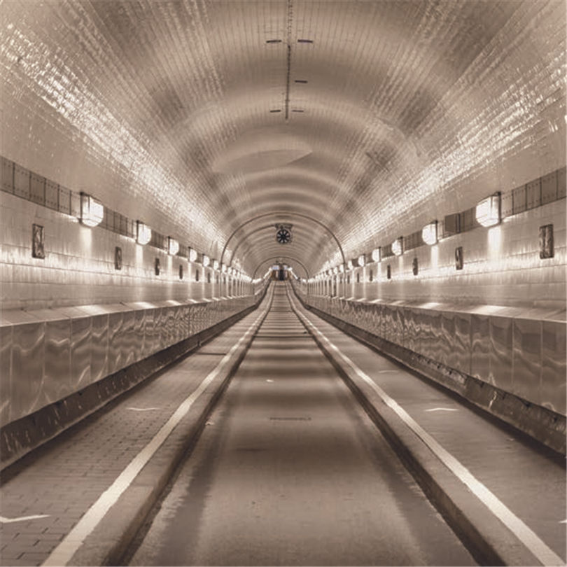 Thomas Betong Tunnel under floden Elbe, Tyskland