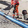 Uponor Barrier PLUS barriärrör för transport av dricksvatten