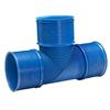 Uponor UVS ventilationssystem mark, T-rör