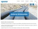 Uponor Isolerat dricksvatten på webbplats
