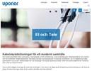 Uponor El och Tele på webbplats