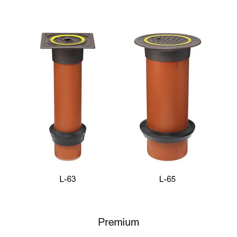 Uponor teleskopbetäckningar, Premium