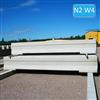 GPLINK 2.0 sidobarriär eller mittbariär i betong. Testad och godkänd i kapacitetsklass N2.