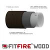 FitFire® Wood insatsrör