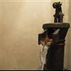 ClayLime Tadelakt Pro kalkputs bakom vattenpump