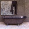 DECO ClayStone på badrumsvägg