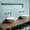 Tierrafino Tadelakt kalkputs i badrum