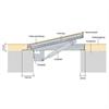 Elkington lucka HSE75 inspektionslucka aluminium