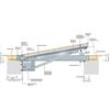 Elkington lucka HSE75 inspektionslucka rostfritt stål