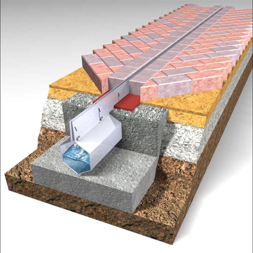 Elkington Slotdrain ytavvattningsystem Paveslot