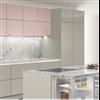 SieMatic PURE köksserie, spishäll, köksbänk, högskåp, bänkskåp och väggskåp