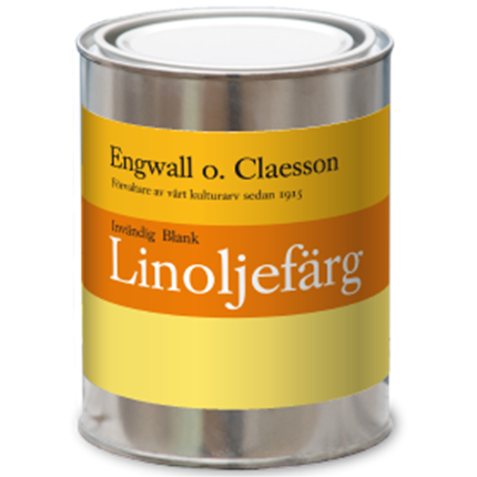Engwall o. Claesson Invändig Blank linoljefärg