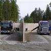 Enstaberga Broelement av färdig betong