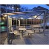 Pergola Prisma, lättmonterad väderskydd med stativ