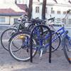 Blidsbergs cykelställ, låsbara Bygeln