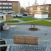 Blidsbergs Glommen parkmöbler, på område