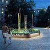 Blidsbergs planteringskärl Haga Hexagon med belysning