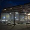 Blidsbergs Quattro cykeltak med väggar av sträckmetall, Helsingborg