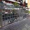 Blidsbergs Basta cykelgarage/cykelhus med låsbar dörr och glastak