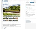 Boge cykelgarage på webbplats