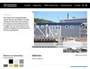 Hallbyggnader på webbplats