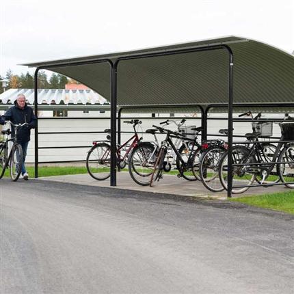 Blidsbergs Boge cykelgarage