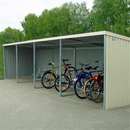 Blidsbergs BMV 6 och BMV 7 cykelgarage
