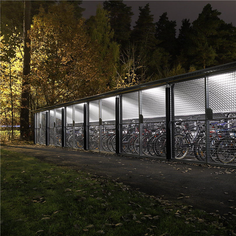 Blidsbergs Boge cykelgarage, Linköping