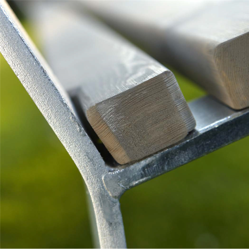 Blidsbergs Botan parkmöbler, detalj