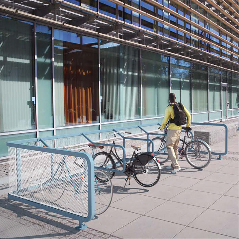 Blidsbergs cykelparkering, Cykelrutan
